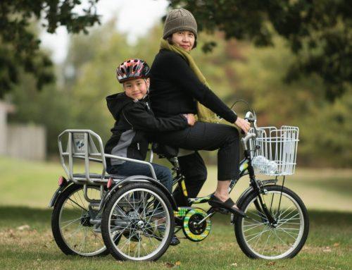 จักรยานสามล้อเพื่อคนที่คุณรัก